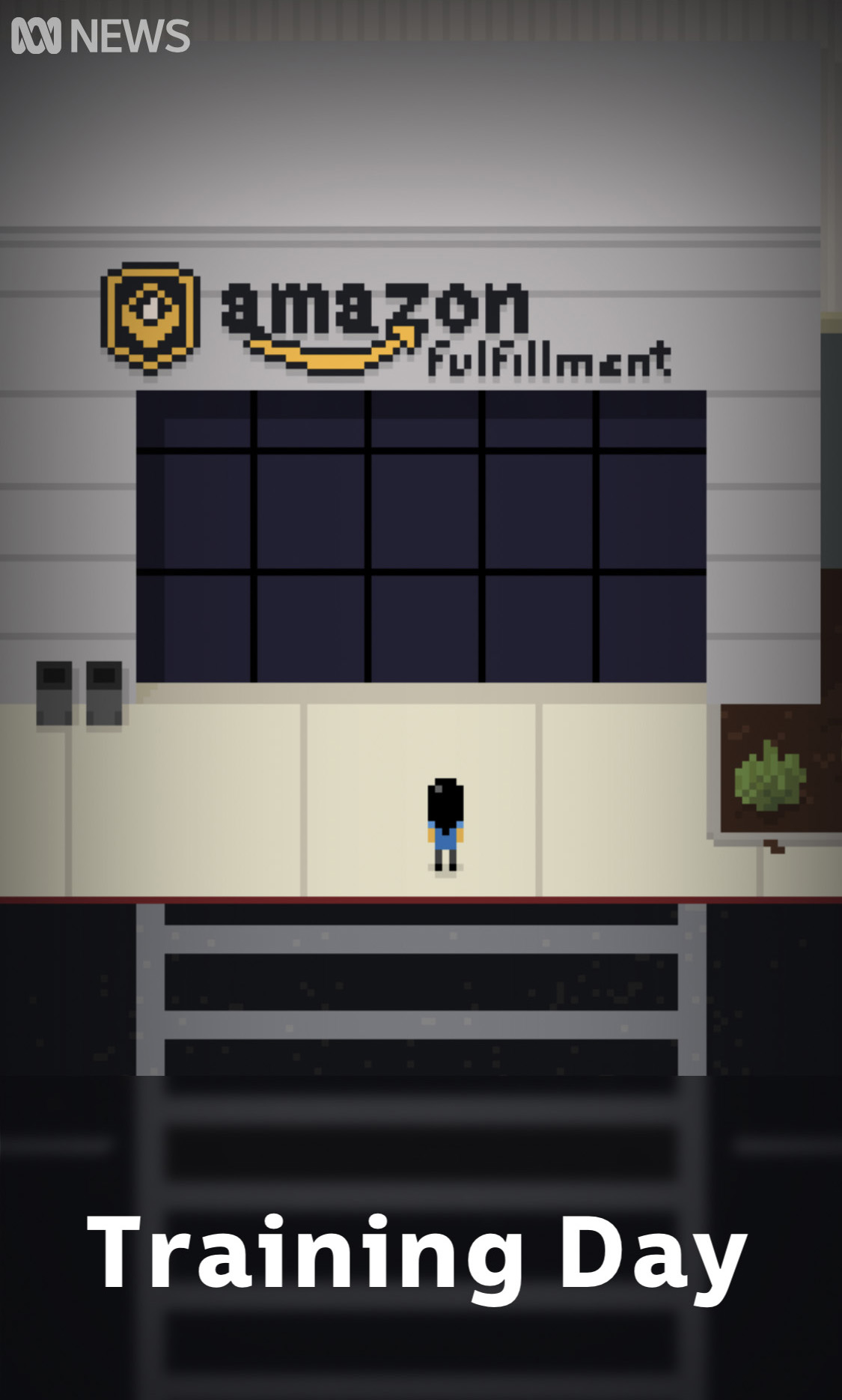 Experience what it is like to work in an Amazon warehouse