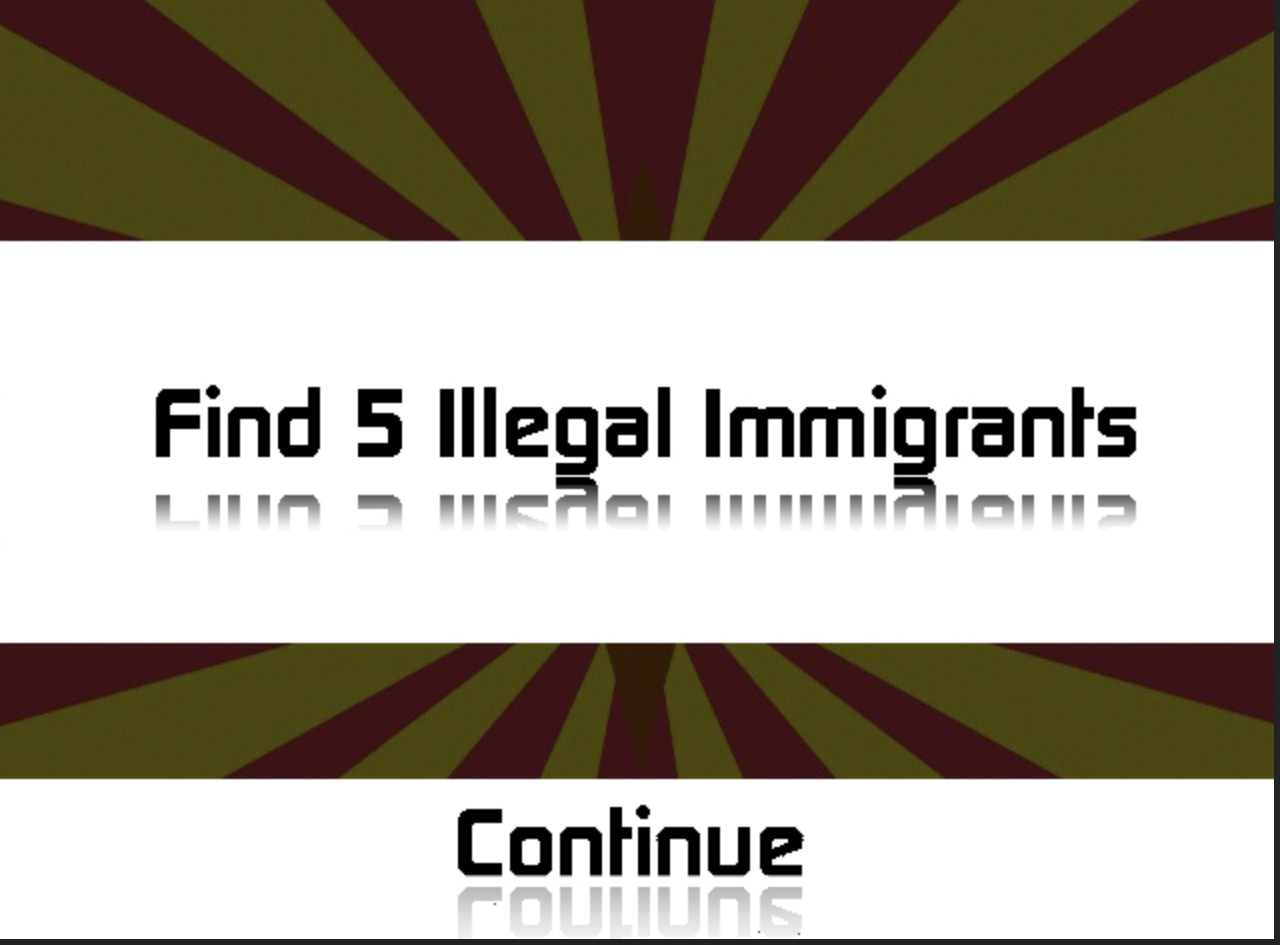 Catch and deport illegal immigrants