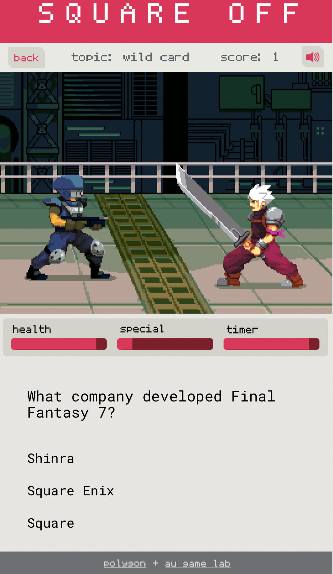 Test your knowledge on Final Fantasy 7's game development, lore and culture